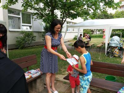 Děti z Azylového domu Gloria slavily Dětský den s NADACÍ AGEL