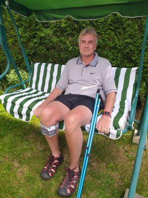 NADACE AGEL přispěla na pomůcku, díky které může pacient s roztroušenou sklerózou chodit do práce